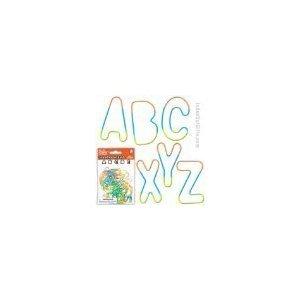 (Pk/26 Alphabet Rubber Bands Bracelets by Toysmith)