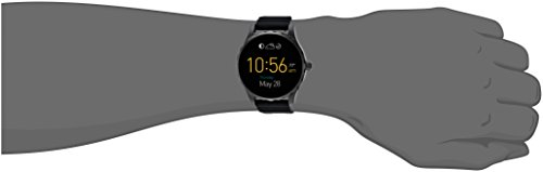 Fossil Q Marshal Gen 2 Black Silicone Touchscreen Smartwatch FTW2107