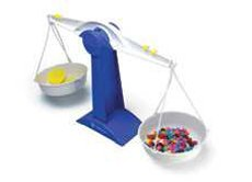 Simple Scale, Double Pan Balance, Case of 8