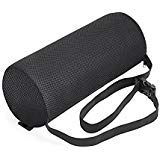 Lumbar Pillow by American Pro Sports - Lumbar Roll Support Cushion - for Office Chair or Car Seat - is Adjustable and Portable