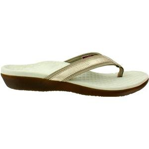 Vionic Womens Tide II Orthaheel Thong Sandal Shoe, - Orthaheel Womens