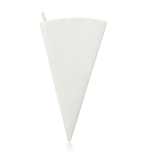 New Star Foodservice 37722 Commercial Grade Plastic Coated Canvas Pastry Bag, 20-Inch (Coated Bag Plastic Decorating)