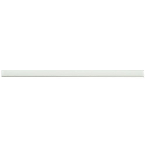 Glazed Tile Liner (SomerTile WCVRGBLL Zuri Listelo Liner Wall Trim Tile, 1/2