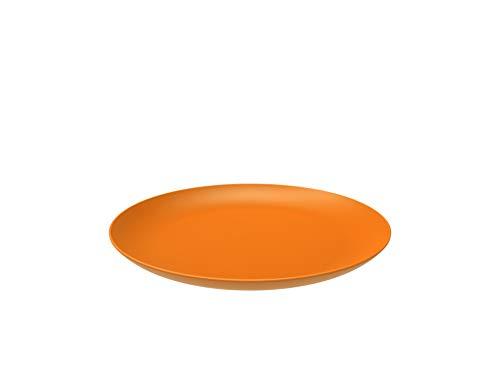 - BEROSSI Funny, Plastic Plate, Orange, 7''