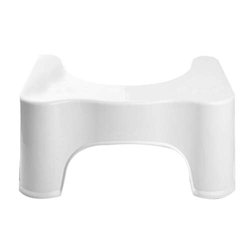 Modern Adult Toilet Stool Non-Slip Thickened Plastic Comfortable Removable Potty Toilet Stool Squat Aid Stool Bowel Movements