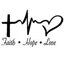 Chase Grace Studio Faith Hope Love Religious Inspirational V