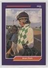Brian Peck (Trading Humorist) 1992 Horse Star Jockey Star Cards - [Base] #192