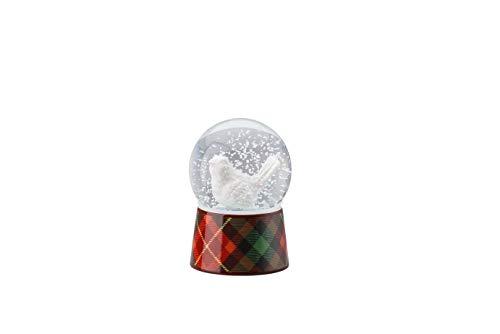 - Hutschenreuther Cozy Winter Snow Globe Bird Design Diameter 6 cm Height 9 cm