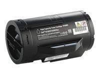 Dell 6,000 Page High Yield Black Toner Cartridge for S2810dn Printer - High Page Yield 6000 Dell
