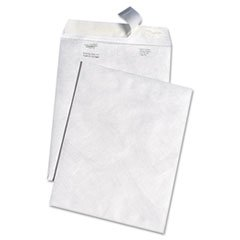 * White Leather Tyvek Mailer, 10 x 13, White, 100/Box