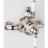 Rohl Perrin & Rowe Double Lever Handle Thermostatic Expansion Valve in Polished Nickel