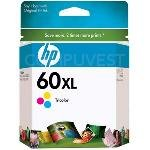 Photo - 2 X HP 60XL CC644WN Tri-color Ink Cartridge in Retail Packaging