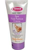(Sally Hansen Just Feet Spa Foot Pumice Creme (Bonus 50% More for Free) 6 Oz.)