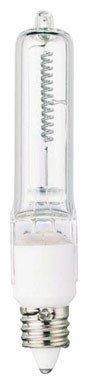 Westinghouse Lighting  04767 Corp 100-watt Mini Candelabra Bulb, - Carded Light Halogen Ended Bulb