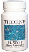 Thorne Research - Vitamine D-5, 000 - 60ct