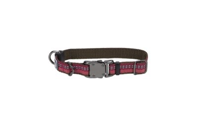 Collar Sunglo Reflective (36422 12 Bry 5/8 Adj Collar Berry Purple K-9 Explorer)