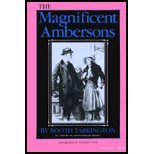 The Magnificent Ambersons by Tarkington. [1989] Paperback