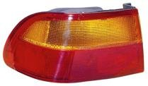 5 Honda Civic Rear Tail Light Assembly Replacement (Coupe/Sedan + Quarter Panel Mounted) - Left (Driver) 33550-SR4-A01 HO2800125 (Rear Quarter Panel Standard Coupe)