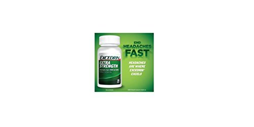 300 Coated Caplets - Excedrin Extra Strength, Headache Relief, Acetaminophen, Aspirin and Caffeine, 300 Caplets by Excedrin