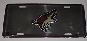 Phoenix Coyotes NHL Metal License Plate