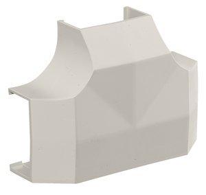 Office White WallTrakPW2 Raceway Tee Fitting, (Package of 5)