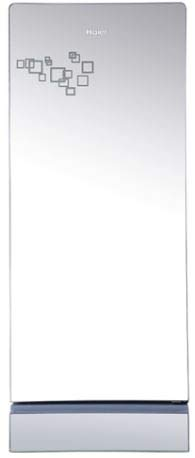 Haier 220 L 4 Star ( 2019 ) Direct Cool Single Door Refrigerator (HRD-2204PMG-E, Mirror Glass)