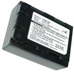 Battery for Samsung HMX-S10, HMX-S15, HMX-S16, HMX-H200, HMX-H203, HMX-H204, HMX-H205, SMX-F40, SMX-F43, SMX-F44