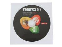Nero 10 Essentials Multimedia Suite CD/DVD Burning Software (OEM Version)