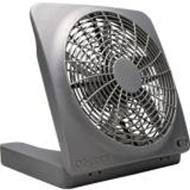 O2-Cool FD10101A Battery or Electric Camping Fan, 10