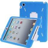 i-Blason ArmorBox Series 2 Layer Kids Friendly Hybrid Protection Case for 7.9-Inch Apple New iPad mini with Kick Stand (iPadMini7InchArmorbox-Blue/White)