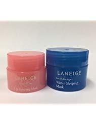 Laneige Water Sleeping Mask & Lip Sleeping Mask (Laneige Water Sleeping Pack)