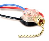 GB Gardner Bender GSW-39 Two Circuit Pull-Chain Switch