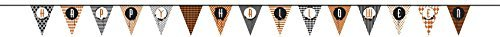 14ft Multi-Patterned Happy Halloween Paper Bunting Flags by Unique Party]()