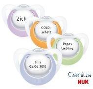 NUK Genius Chupete con nombres/Nombre Chupete - GR 0 - 2 ...