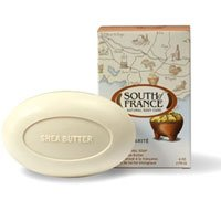 South of France French Milled Bar Soap Shea Butter -- 6 oz