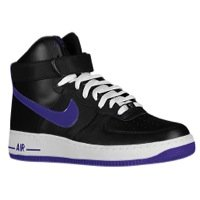 Nike Men's Air Force 1 High '07 Black/Court Purple Basketball Shoe 11 Men US (Nike Air Force One Purple And Gold)
