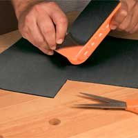Peachtree Woodworking Self Adhesive Rubber Mat PW2892
