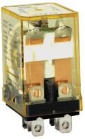 IDEC RH2B-U-DC12V Discontinued by Manufacturer, Relay, Plug-in, DPDT, 10 AMP, 12 VDC - Relay Amp 10 Dpdt 12vdc