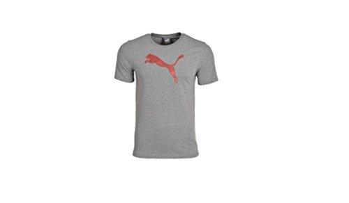 PUMA T-shirt T-shirt grigia Logo