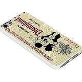 Disneyland Ticket Custom for Iphone Case (iPhone 6 white) (Tickets For Disneyland)
