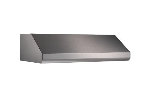 (Broan Under-Cabinet Internal Blower Range Hood with Light, Exhaust Fan for Kitchen, Stainless Steel, 600 CFM, 30