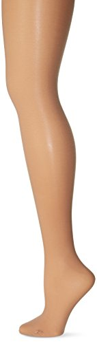 Stretch Footed Tights - Capezio Women's Hold & Stretch Plus Footed Tights, Light Suntan, 3X