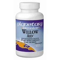 - PLANETARY HERBALS, Willow AidTM - 30 tabs