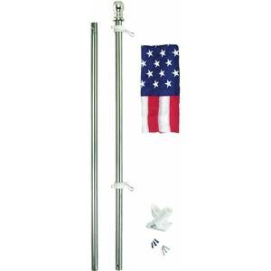 Valley Forge SSTINT-AM6 All-American Flag And Pole Kit-ALL A