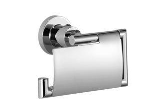 (Dornbracht 83510892-06 Tissue Holder With Cover In Platinum Matte)