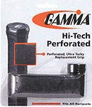 Gamma Hi-Tech Perforated Replacement Grip, Black