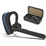 Bluetooth Headset, Wireless HandsFree Earpiece Noise Cancell