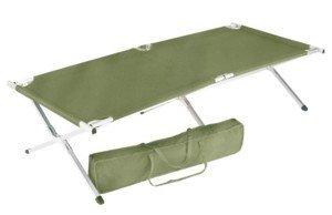 Oversized Aluminum Folding Cot - Rothco GI Style Oversized Aluminum Camp Cot