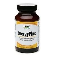 Pure Essence, Energy Plus - 60 Tablets by Pure Essence
