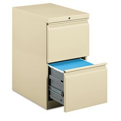 HON33823RL Mobile Pedestal,File/File,R Pull,15x22-7/8x28,Putty